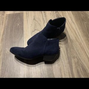 Style & Co Navy Booties